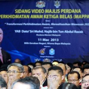 Gaji Tahunan Naik 1 Tangga - Datuk Seri Najib Tun Razak