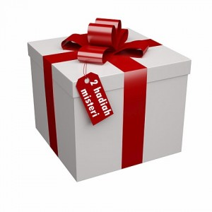 Hadiah misteri buat fans ke-50!!