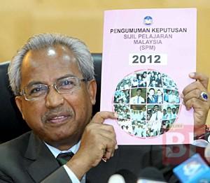 Semak Keputusan Spm 2012